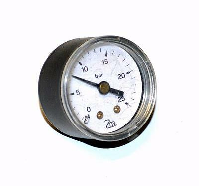 "Hydraulics, Pneumatics, Pumps & Plumbing 0-25 Bar Pressure Gauge 1/8"" Npt Back Mount Soft And Light Business & Industrial"