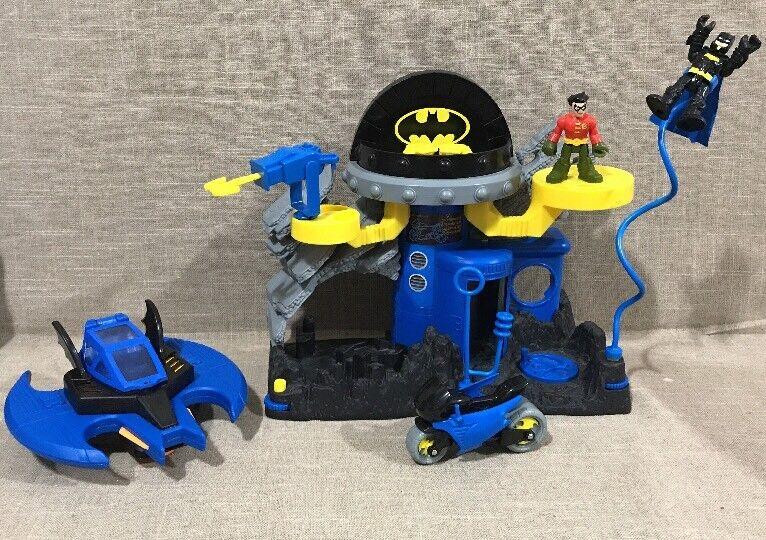 Lot Of Imaginext Justice League DC Super Friends Batman Batcave Headquarters