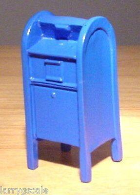U.S. Mail Box Miniature 1/24 Scale G Scale Diorama Accessory Item