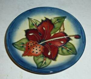 Beautiful MOORCROFT Coaster - SIMEON by Philip Gibson 2000
