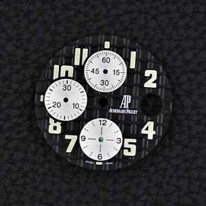 AUDEMARS-PIGUET-Royal-Oak-OFFSHORE-BLACK-Chrono-Zifferblatt-Dial-25940ST-42mm