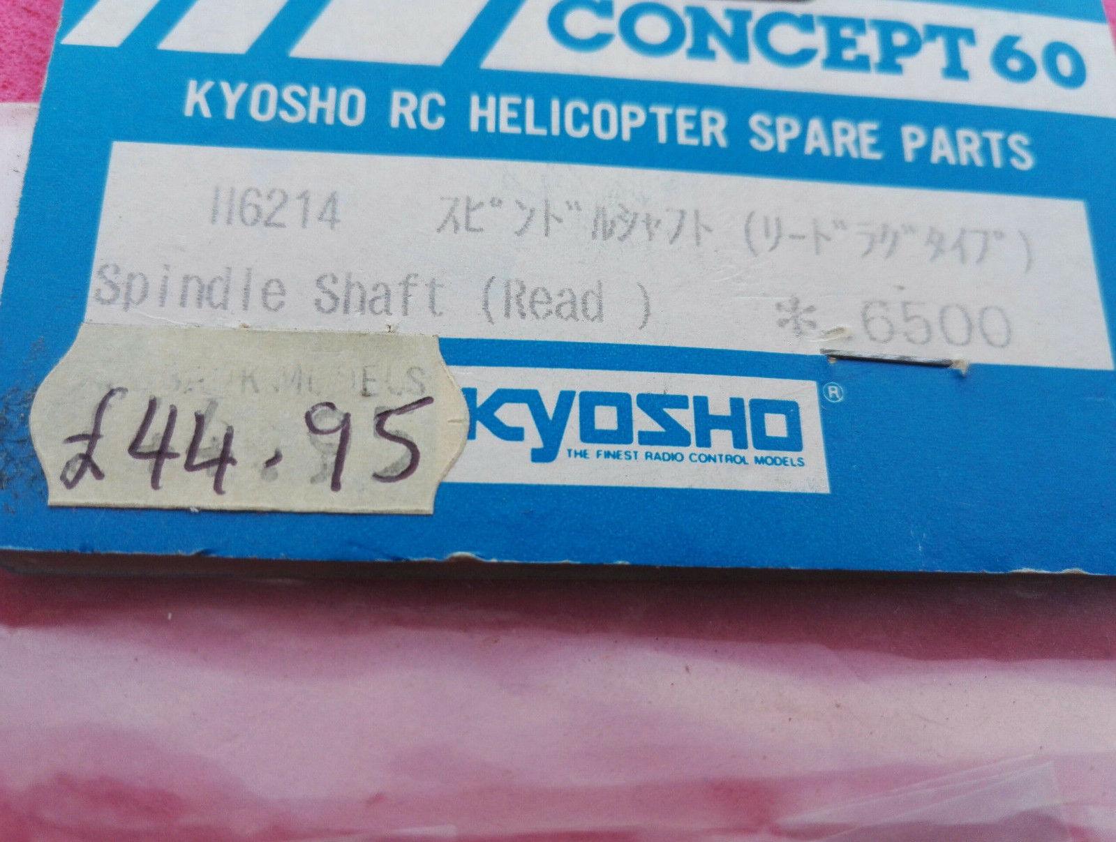 Kyosho konzept 60 erspart (spindel schacht)