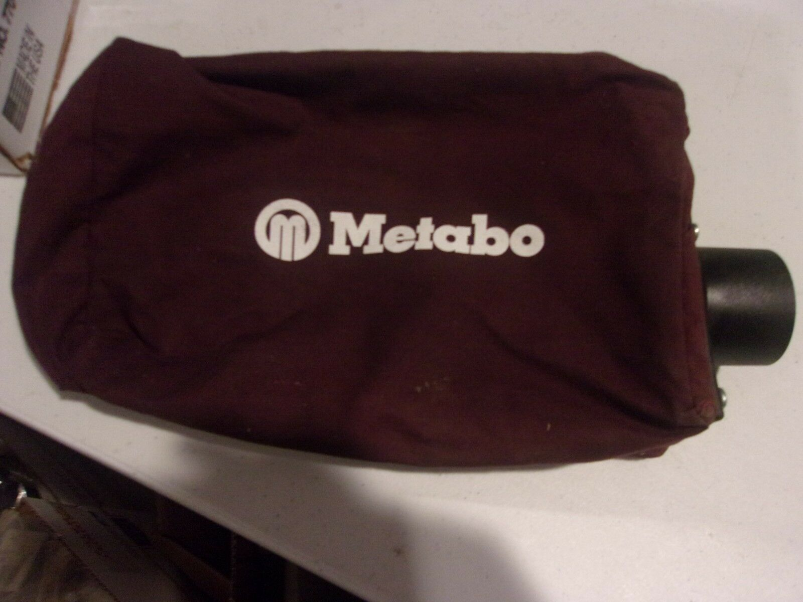 METABO DUST COLLECTION BAG CLOTH 1 1/4 OD 10 IN LONG 6 IN TALL 2 1/2 IN WIDE
