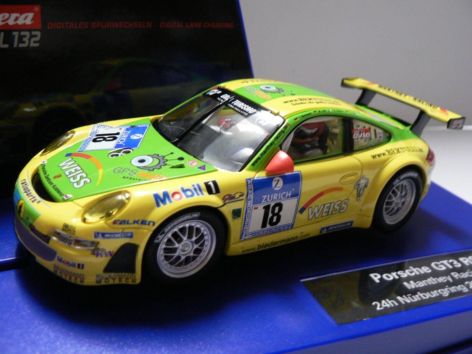 autorera Digital 132 30609 Porsche GT3 Rsr uomothey Racing 24 H Nürburgring Nuovo