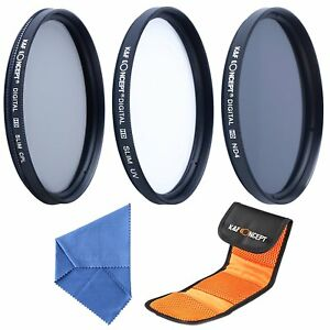 K-amp-F-Concept-77mm-UV-CPL-ND4-Lens-Filter-Kit-Neutral-Density-Polarizing-Filter