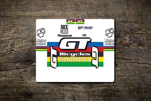 Bike Ninja Zaskar Hans Rey LTS RTS GT WC MTB Jersey Mouse Mat
