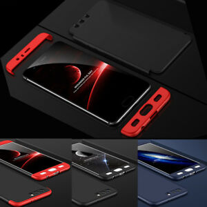 For-Huawei-Honor-9-Full-Body-Protective-Cover-Hard-Matte-Back-Shockproof-Case