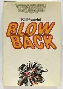 Bill-Pronzini-Blowback-SIGNED-FIRST-EDITION
