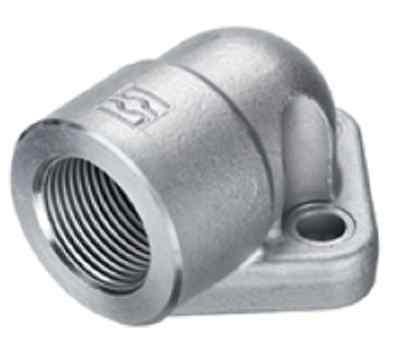 """Bride de pompe hydraulique pompe engrenages raccord hydraulique fileté 3//4/"""" 90°"""