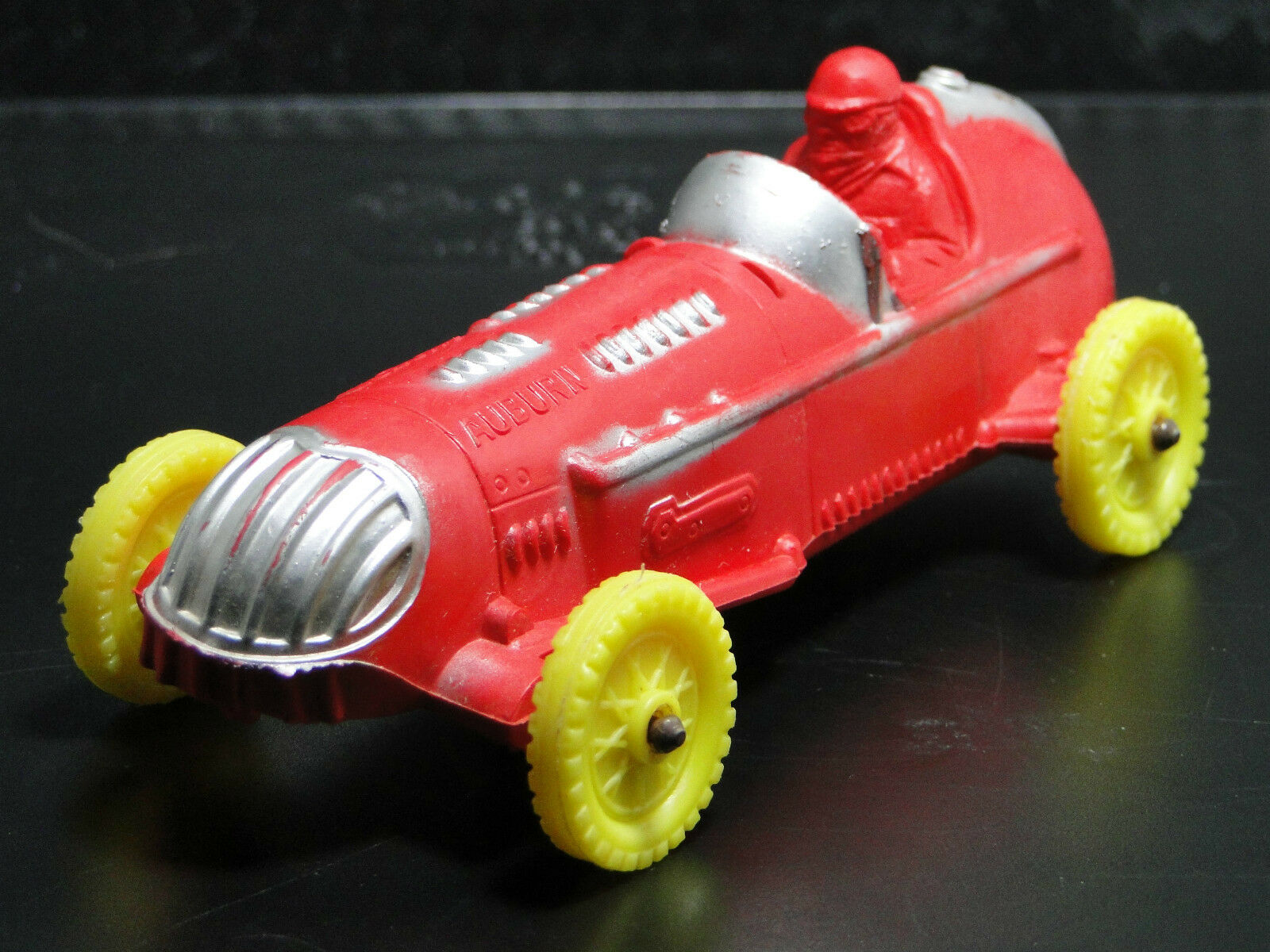 A Ford Model Racer Vintage Race Car GP F T Indy Midget Antique 1 18 1940 24 rosso