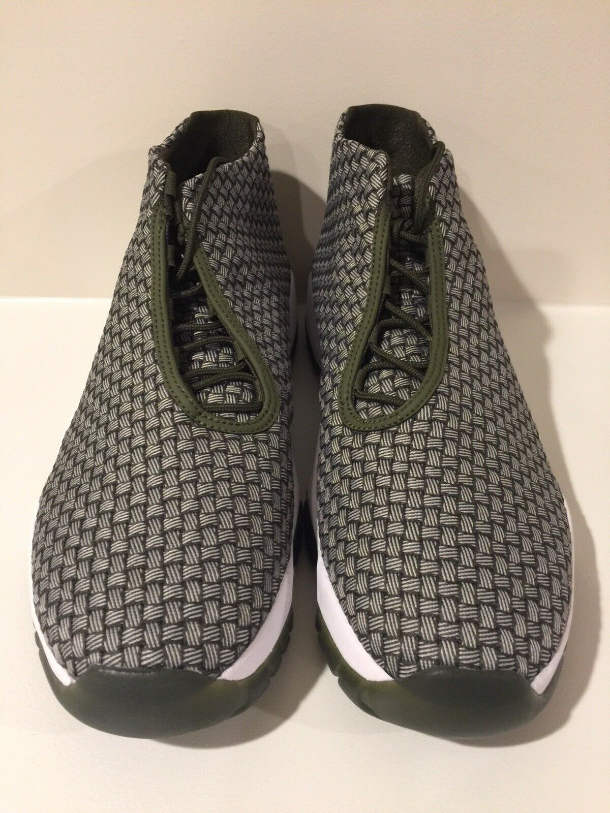 NEW Nike Men's Air Jordan Future 656503 305 Olive Dark  Size 13 Woven w o box