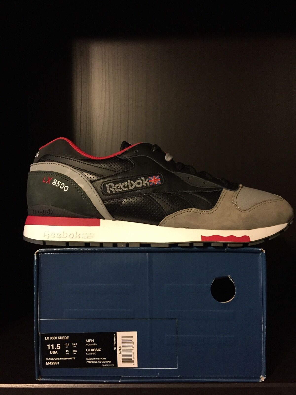 Highs and Lows (HAL) x Reebok LX8500 10th Anniversary - Size 11.5