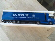 Scania 164 l trailer. Lion car 1 50. Bird s  ovp