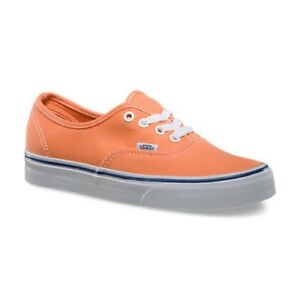 852f214590d64e Image is loading Vans-Authentic-Canteloupe-True-White-Casual-Trainers-Women-