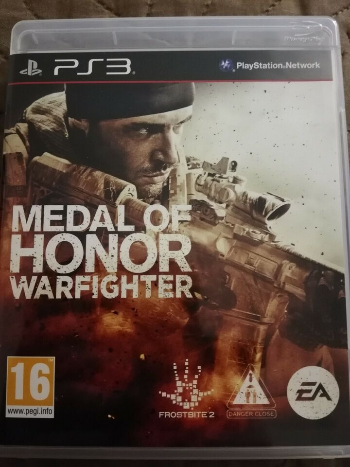 Medal of honor warfighter, PS3, action