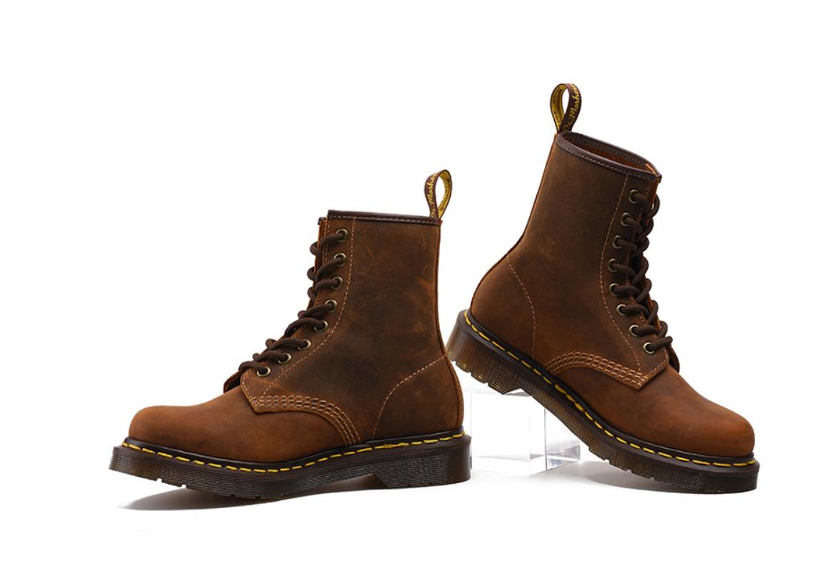 Neu Dr. Martens Doc Boots Stiefel Smooth 8 Eye Loch Loch Loch 1460z Lederstiefel GZ 2018** fa2e6a