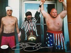 Butterbean-signed-8x10-photo-Department-Store-Boxing-Champ-Jackass-movie-JSA-coa