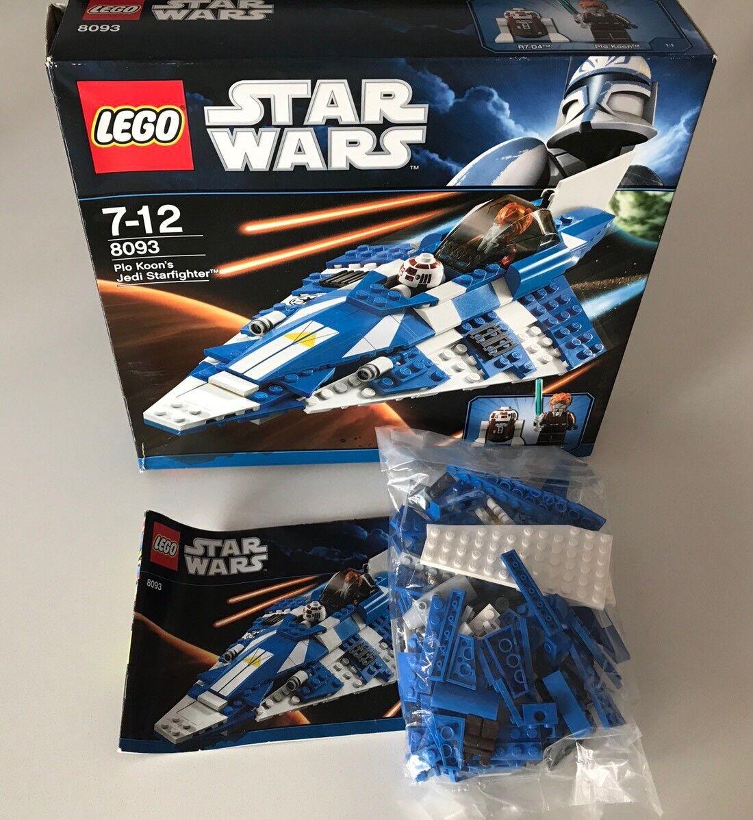 LEGO STAR WARS 8093 Plo Koon's Jedi Starfigher BA + OVP