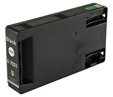 1 Black T7021 non-OEM Ink Cartridge For Epson Pro WP-4525DNF WP-4535DWF