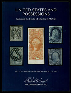 Siegel-Auction-Catalog-Sale-1179-U-S-amp-Possessions-feat-Charles-H-McNutt