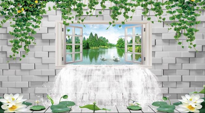 3D Fenster Lotus See 72 Tapete Wandgemälde Tapete Tapeten Bild Bild Bild Familie DE Summer | Erlesene Materialien  | Vogue  | Garantiere Qualität und Quantität  01eda4