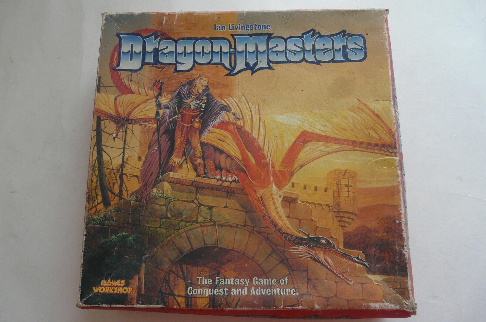 Dragon Masters Juego De Mesa Juegos Workshop Ian Livingstone + extras