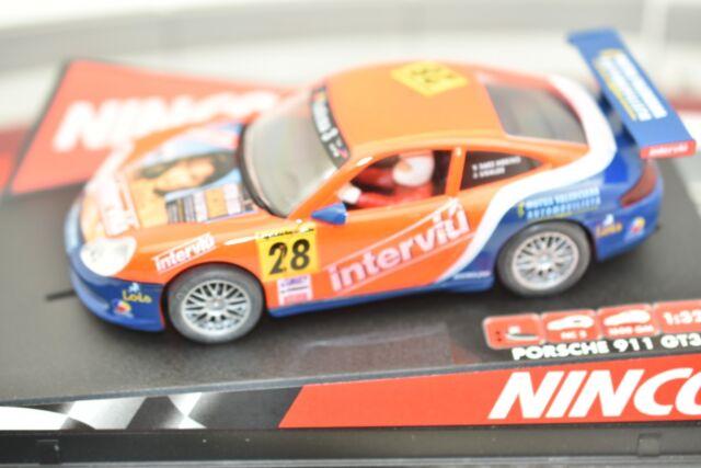 50259 Ninco 132 Slot Car Porsche 911 Gt3 R Interviu