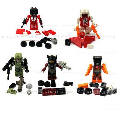 5 x Gift Toy New HASBRO TRANSFORMERS G1 KRE-O KREO MICRO CHANGERS FIGURES FW192