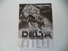advertising Pubblicità 1981 FUORISTRADA DELTA MINI CRUISER