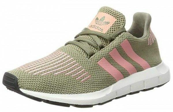 Adidas Swift Run Primeknit Damen Schuhe Turnschuhe Turnschuhe CG4142 (Grün)