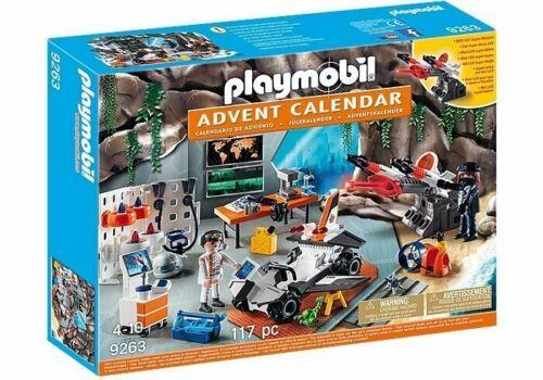 Christmas Advent Calendar Top Agents Playmobil