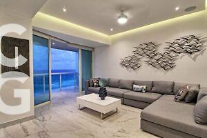 Departamento en Venta en Cancun en Bay View Grand con Terraza