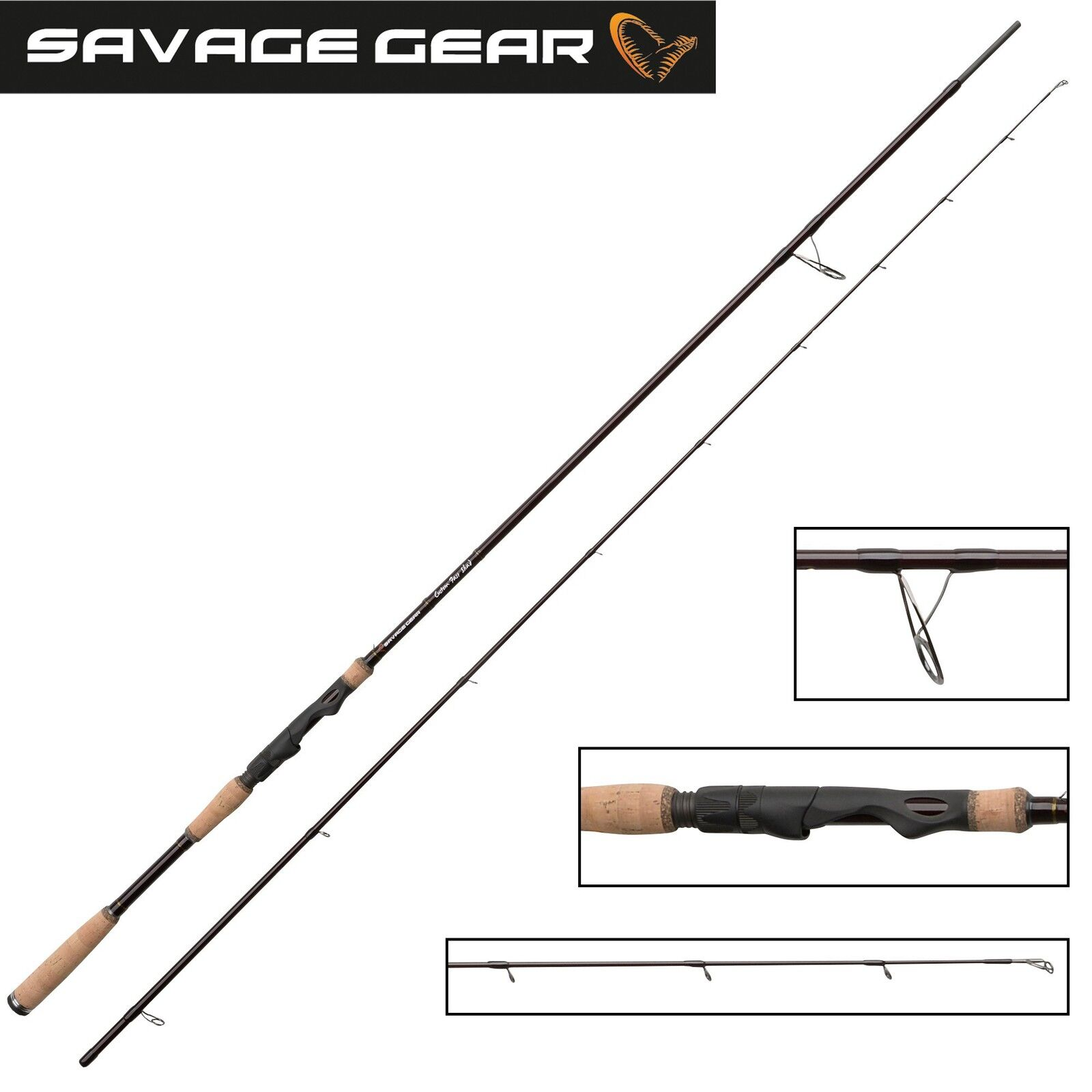 Savage Gear Custom Protator Fast Shad    258cm 3-16g Spinnrute für Raubfische bc6680