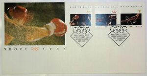 1988-FDC-Australia-Seoul-Olympics-034-Olympic-Rings-034-PictPMK-034-CANBERRA-034