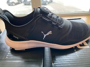 New Puma Ignite Nxt Disc Golf Shoe Black Ebay