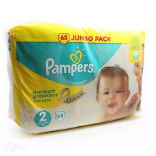 Pampers Nuevo De Bebé Grande Paquete Talla 2 68 Pañales