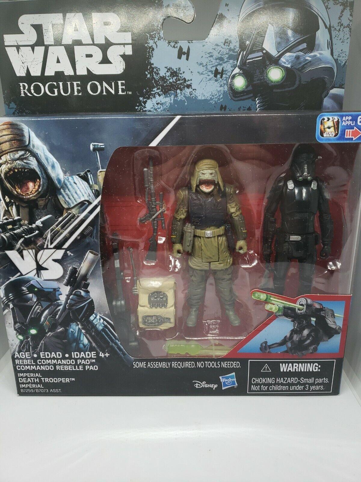"Cravate Striker Star Wars Rogue un film échelle 3.75/"" Véhicule /& figurine Hasbro 2016"
