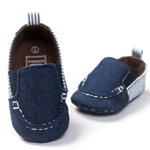 Toddler Kid Baby Girl Boy Soft Sole Cotton Cowboy Shoes Anti-slip Prewalker Shoe