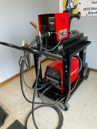 STICK Welding Package Lincoln Invertec V350-PRO Welder w// LN-7 Wire Feeder MIG