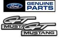 1994-95 Mustang Genuine Ford gt Mustang Chrome Fender Side Emblems - Pair