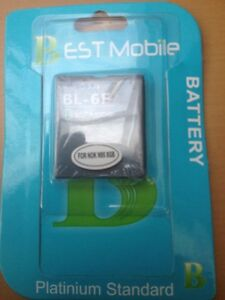 Mobile-Replacement-Battery-For-Nokia-N95-8GB-N96i-BL-6F-Brand-New