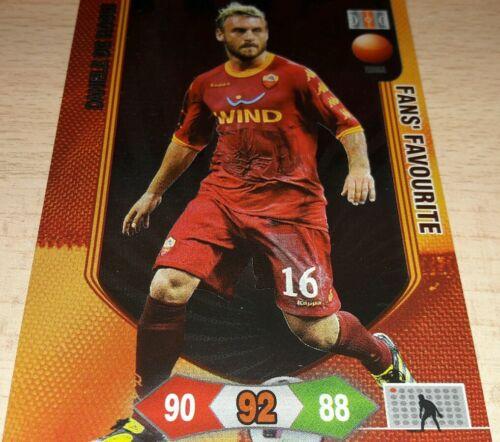 CARD ADRENALYN 2010//11 PANINI ROMA DE ROSSI CALCIO FOOTBALL SPECIAL 2011