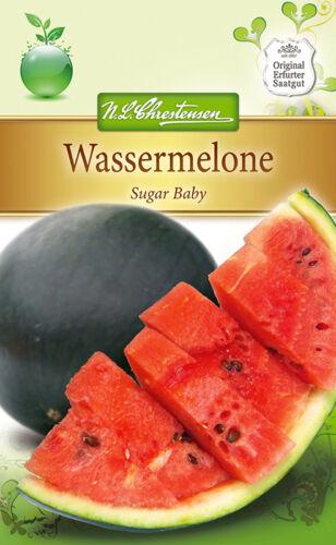 Citrullus lanatus 16 Samen 4290 ca Melone Wassermelone /'Sugar Baby/'