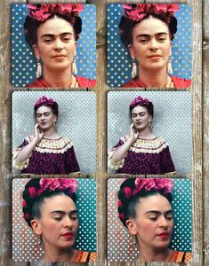 Frida-Kahlo-Coasters-Set-Of-6-Tough-Non-Slip-Neoprene