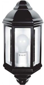 Linterna-LED-media-de-240V-IP44-exterior-tradicional-Patio-Pared-Jardin-Luz-Montado
