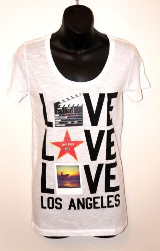 VICTORIA/'S SECRET LOVE PINK LOS ANGELES T-Shirt Hollywood Film Star 1986 SHIRT