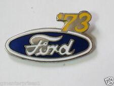 1973 Ford Pin Ford Logo Pin Badge  lapel Hat Tack