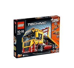 New-Lego-Technic-8109-Flatbed-Truck-In-Sealed-Box-Discontinued