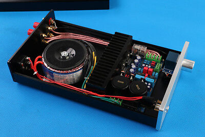 hifi diy kit lm3886tf stereo amplifier board kit amplifier case transformer ebay. Black Bedroom Furniture Sets. Home Design Ideas