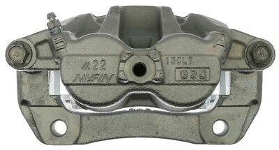 Disc Brake Caliper-Friction-Ready New Caliper with Bracket Front Left Raybestos